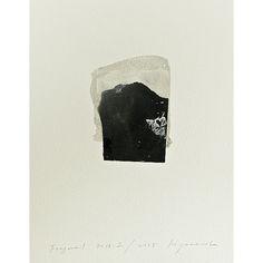 Hideaki Yamanobe  Fragmente 2015-2, 2015  Papier-Collage und Acryl auf Papier, 29 x 22,5 cm