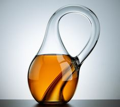 Klein Bottle / Here's what Felix Klein had in mind back in 1882, when he first dreamed of a closed, one-sided surface. http://thegadgetflow.com/portfolio/klein-bottle-65/