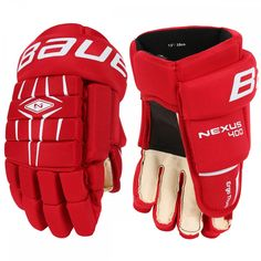 Bauer Nexus 400 Sr. Hockey Gloves Size: 14 Color: Blk Hockey Gloves, Protective Gloves, Size 14, Color, Colour, Colors