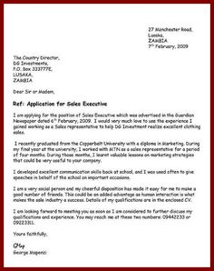 10 Best Application Letters Images Cover Letter For Resume Cover
