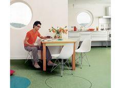 Linoleum? Linoleumboden, Küchen Bodenbelag, Fußböden, Kleine Landhäuser,  Haus Interieurs, Ideen