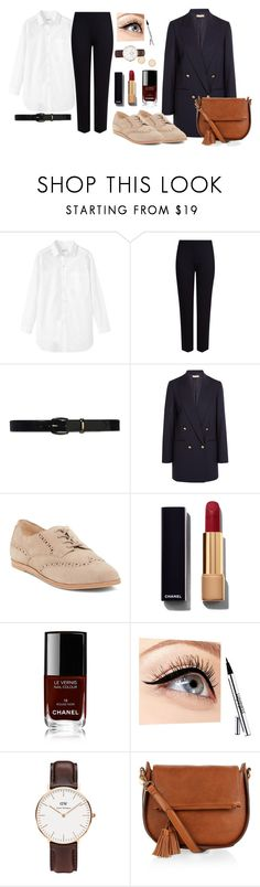 """Ootd#11"" by luludedid on Polyvore featuring mode, Toast, M&S Collection, Lauren Ralph Lauren, Michael Kors, Dolce Vita, Chanel, Luminess Air, Daniel Wellington et Monsoon"