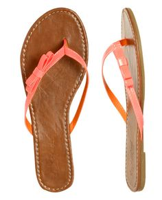 Side Bow Flip Flop - Wet Seal $9.50 but one get one 50% off