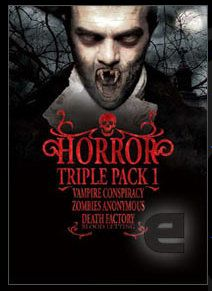 Horror Triple Pack - sold only in Australia Last Game, Make It Through, Conspiracy, Blood, Horror, Death, Budget, Australia, Film