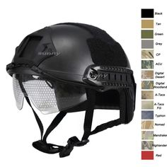 Tactical MH helmet, fast helmet Camouflage helmet, airsoft helmet, paintball helmet, airsoft gear, helmet with goggles-Product Center-Sunnysoutdoor Co., LTD-
