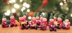 Fimo Elf Christmas Decorations