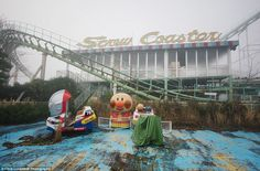 Off the rails: Due to lack of visitors Nara Dreamland eventually closed down, but it had operated since 1961