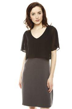 Sheer Overlay Dress.