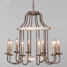 Gabby Lighting Adele Chandelier #laylagrayce #gabbyfurnishings