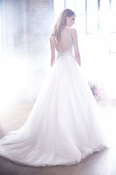 Vintage A Line Wedding Dresses Sexy Open Back Lace Applique Top Bridal Gowns #dhgatepin