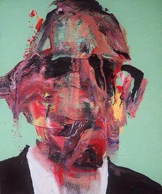 Faceless portrait