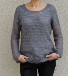 modele pull tricot - Sweater knit pattern