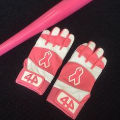 44 Pro Signature Select Breast Cancer Awareness Batting Gloves   44 Pro Gloves