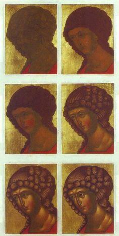 Religious Images, Religious Icons, Religious Art, Byzantine Icons, Byzantine Art, Writing Icon, Paint Icon, Small Icons, Face Icon