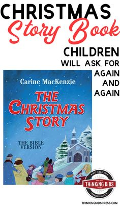 Christmas Story Book Children will Ask for Again and Again Looking for a Christmas story book for children? The Christmas Story by Carine Mackenzie is a biblically faithful retelling of the birth of Jesus. Christmas Story Books, Christmas Bible Verses, Kids Story Books, Parenting Articles, Parenting 101, Christmas Activities For Kids, Monthly Themes, Reading Resources, Christian Parenting