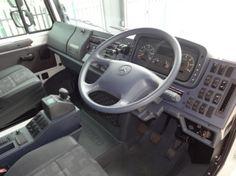 2012 Mercedes Benz Unimog U4000 D/cab dash