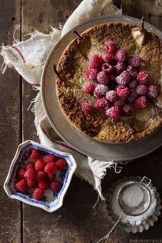 Pear & Walnut Cake via Bakers Royale
