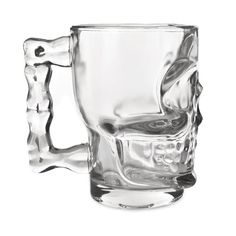 Skull Beer Stein Impress your guests with this Skull Stein. Made from glass, these stein hold 16 ounces and are great for parties, decoration or everyday use. Holds up to 16 Ounces Glass Made Delivery times : days Cocktail Glassware, Barware, Cigar Cases, Best Beer, Skull And Bones, Beer Lovers, Tea Mugs, Bars For Home, Craft Beer