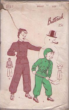 Butterick pattern 1947