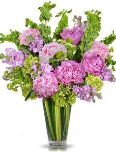 25 Best Purple Pink Flower Arrangement images | Flower ...