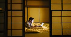 View Stock Photo of Young Man Working On Laptop Lying On The Floor In Traditional Japanese Ryokan. Find premium, high-resolution photos at Getty Images. Great Hotel, High Resolution Photos, Hotels Near, Hotel Deals, Business Travel, Flooring, Stock Photos, Traditional, Home