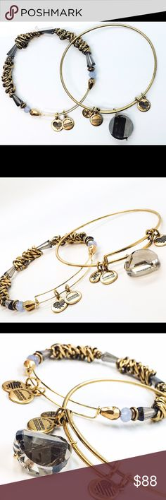 Alex and Ani Nordstrom Exclusive Beaded Set of Two New with no tags!!                                                        Pictures by me!! Alex & Ani Jewelry Bracelets