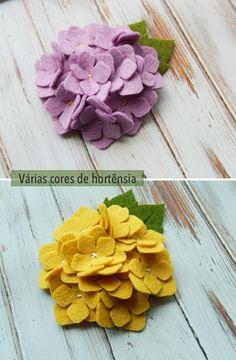 Feltro - flores de feltro