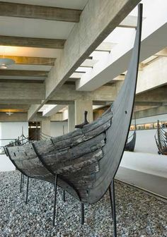 Skuldelev Ships, Demark. A group of eleventh-century Viking ships have been lifted out of the shallow waters off Roskilde, a former capital of Denmark. The ships, ranging from common cargo carriers to warships, had been filled with stone and sunk to block a sea channel from invaders.