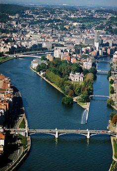 La Meuse et sa dérivation (Boverie, Fragnée)