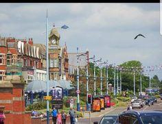 Blackpool Pleasure Beach, St Anne, Times Square, Saints, Tower, Street View, Travel, Rook, Viajes