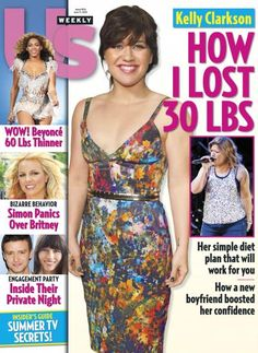 Kelly Clarkson Lost Some Big Time Poundage!