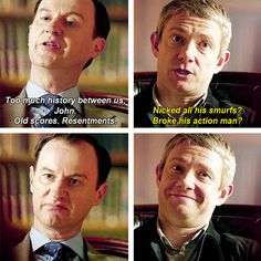 I love this. Mycroft's face is the best thing ever.