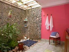 Uma idéia interessante de reutilização da água do chuveiro! É possível melhorar a idéia e resultar em algo fantástico!