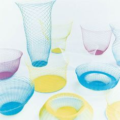 Torafu Architects of Tokyo, Japan have designed a paper container that can be stretched into a vase, plate or bowl.