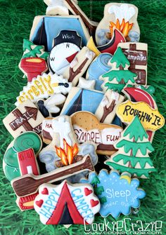 CookieCrazie: Happy Camper Cookie Collection