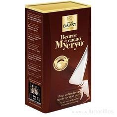ATEMPERADO del CHOCOLATE. Hoy les quiero presentar este producto, se llama MYCRYO. El Mycryo es manteca de cacao en polvo, obtenido a través de un proceso de congelación a una temperatura muy extrema (criogenización) Ese polvo de manteca de cacao tiene una concentración elevada de los famosos cristales BETA (los que dejan el chocolate brillante y con buena textura) Si en un chocolate derretido ponemos Mycryo, bajo determinadas temperaturas, lo que estamos haciendo es SEMBRANDO los cristales…