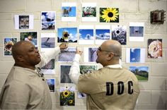 Photo class for jail inmates develops passion for art