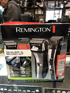 Other Shaving and Hair Removal: Remington F5800mbhol Intercept Pivot And Flex Men Shaver Beard-Mustache Trimmer -> BUY IT NOW ONLY: $69.99 on eBay!