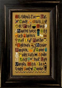 Cross stitch kit Lizzie Kate ABC's of by thecottageneedle on Etsy