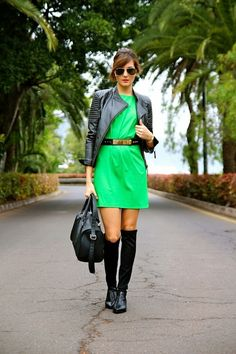 Marilyn's Closet - FASHION BLOG: Green Girl