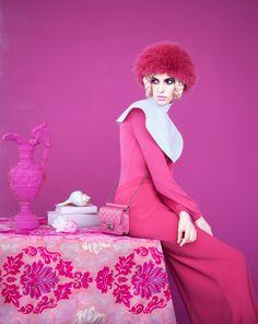 Ruby Aldridge By Erik Madigan Heck For Harper's Bazaar Russia November 2013 As 'Fade To Red'