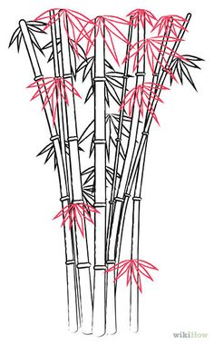 how to draw bamboo - Google Search