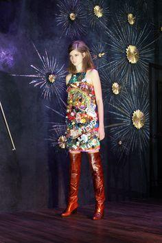 Just a Darling Life: New York Fashion Week: Cynthia Rowley Ready-to-Wear Fashion Show, Fall 2014 Love Fashion, Runway Fashion, Fashion Show, Autumn Fashion, Fashion Design, Cynthia Rowley, 2014 Fashion Trends, Fall 14, Applique Dress