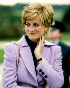 September Princess Diana visiting RAF, Harrier Base in Wittering, Cambridgeshire. Real Princess, Princess Of Wales, Royal Uk, Lady Diana Spencer, Digital Art Girl, Queen Of Hearts, Queen Elizabeth, Beautiful People, At Least