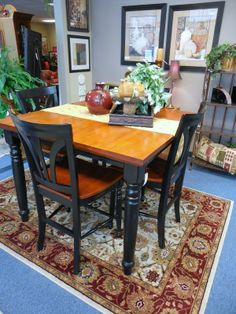 Butterfly Table with Leaf and 4-Chairs $389.00. - Consign It! Consignment Furniture