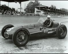 1953 - Jimmy Bryan's (#8) Schroeder-Offy - Qualified: 31st Speed (135.500 mph) Finished: 14th, 17 Laps Down