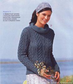 Эффектный пуловер с большим воротником. Обсуждение на LiveInternet - Российский Сервис Онлайн-Дневников