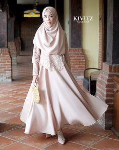 Balemong of Ungaran Part 3 Muslim Fashion, Modest Fashion, Skirt Fashion, Hijab Fashion, Fashion Outfits, Women's Fashion, Fashion Design, Dress Brukat, Hijab Dress Party