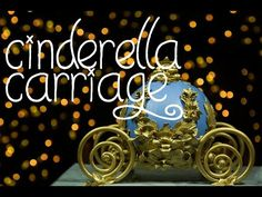 Cinderella Carriage Cake Tutorial - YouTube