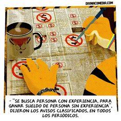SE BUSCA EXPERTO INEXPERTO | #Desempleo #Tigre #Blog